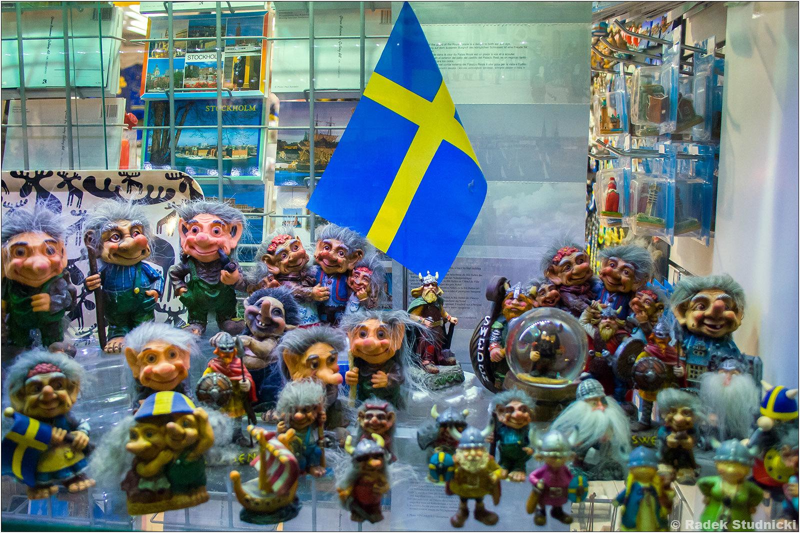 Pamiątki ze Szwecji