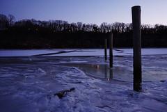 Frozen Raritan River