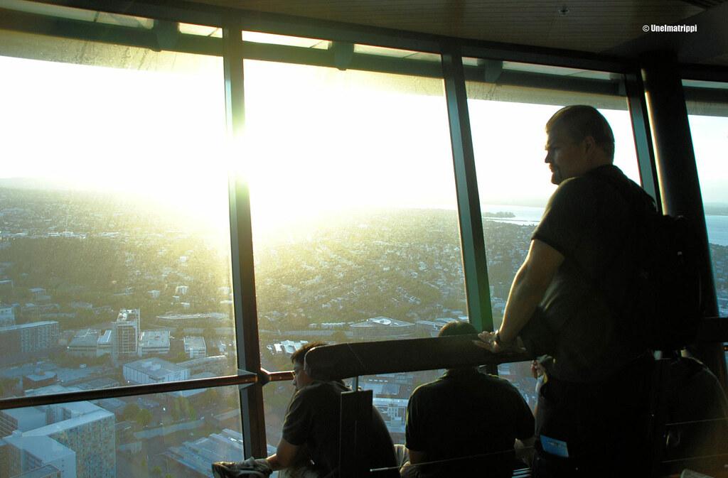 Hemmo Auckland Skytowerissa, Uusi-Seelanti