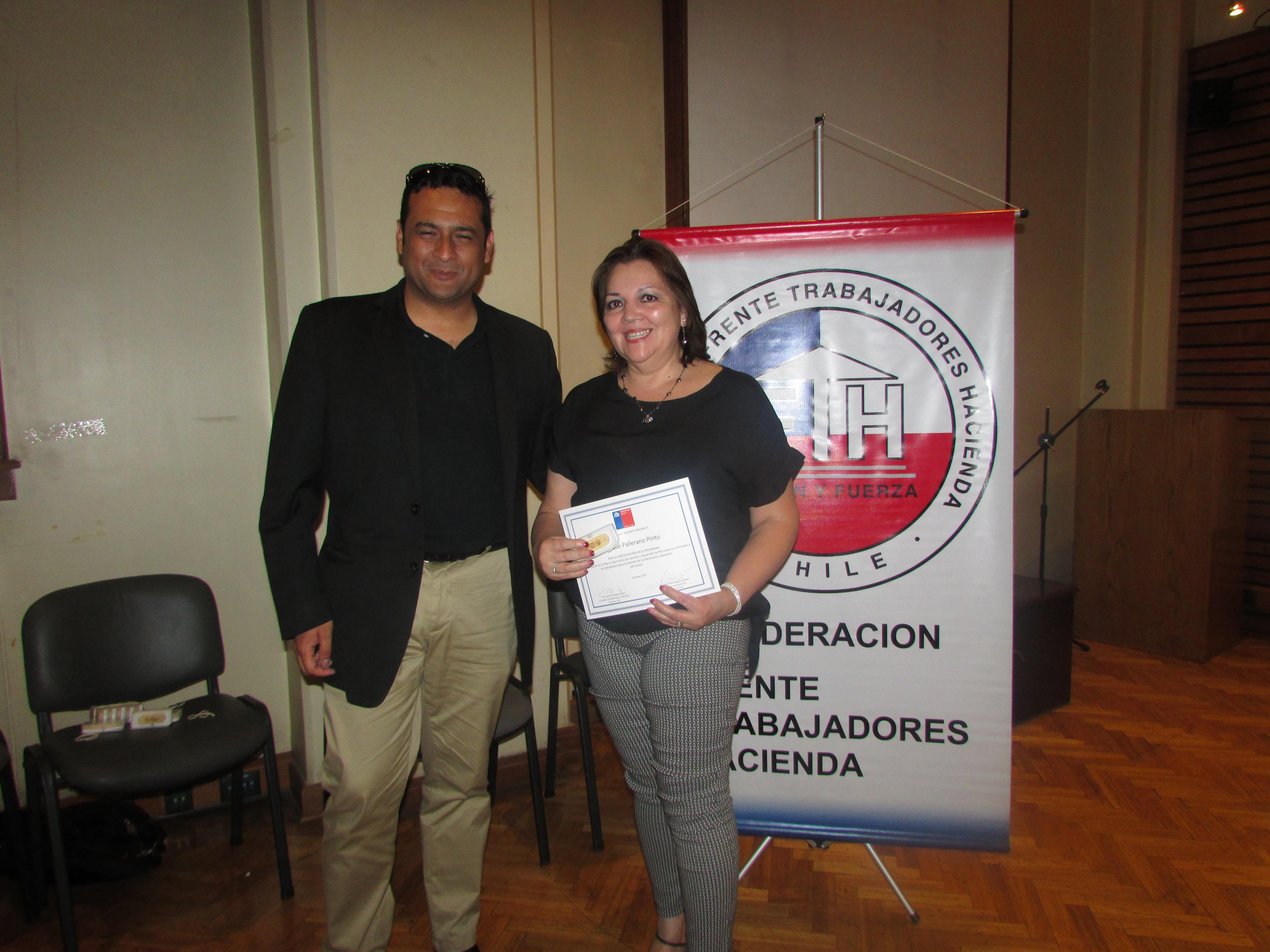 ANEC participa en Primera Escuela Sindical de la Federación de Hacienda, FTH - 14 Diciembre 2017
