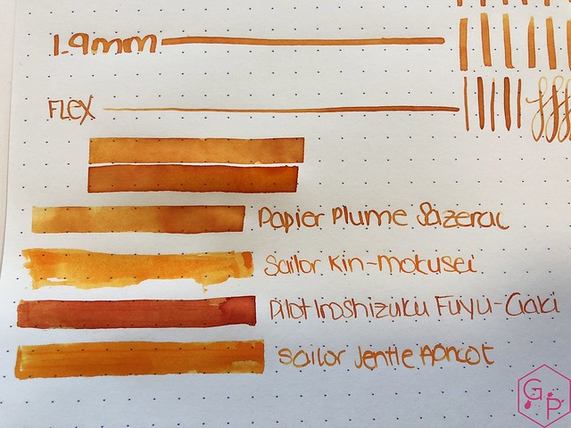 Ink Shot Review @Papier_Plume Sazerac @cohobbyist 6
