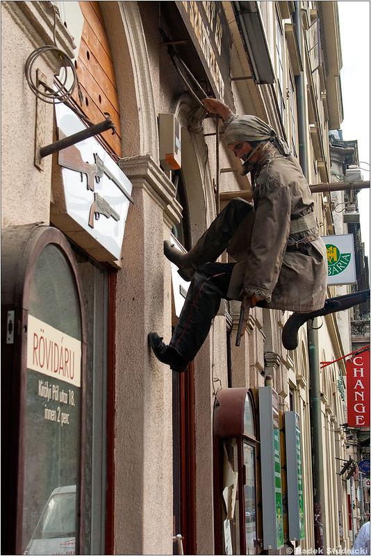 Sklep w Budapeszcie