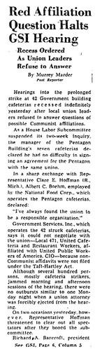 Washington Post reports on Local 471 officials' testimony: 1948