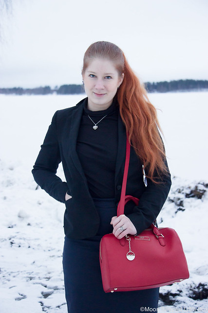 styleblogger from finland, outfit, black blazer