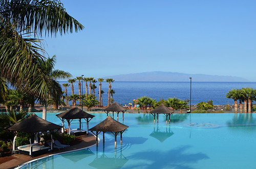 Swimming pool, Melia Gran Palacio de Isora, Alcala, Tenerife
