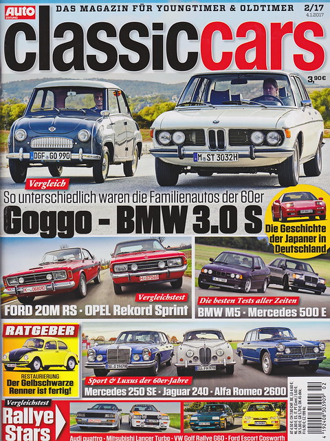 Auto Zeitung - Classic Cars 2/2017