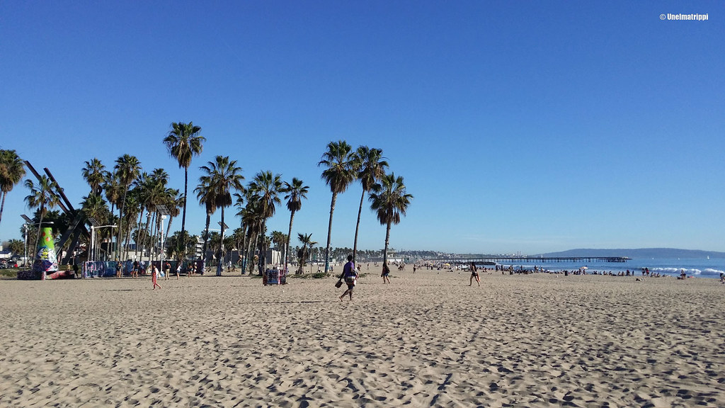 Venice Beach, Los Angeles, Kalifornia, USA