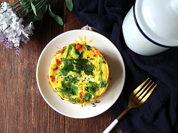 簡易免烤蔬食烘蛋 easy-no-bake-veggie-frittata_neoflam-steam-plus-pan (15)