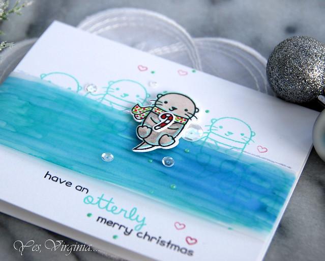 Otterly Merry Christmas