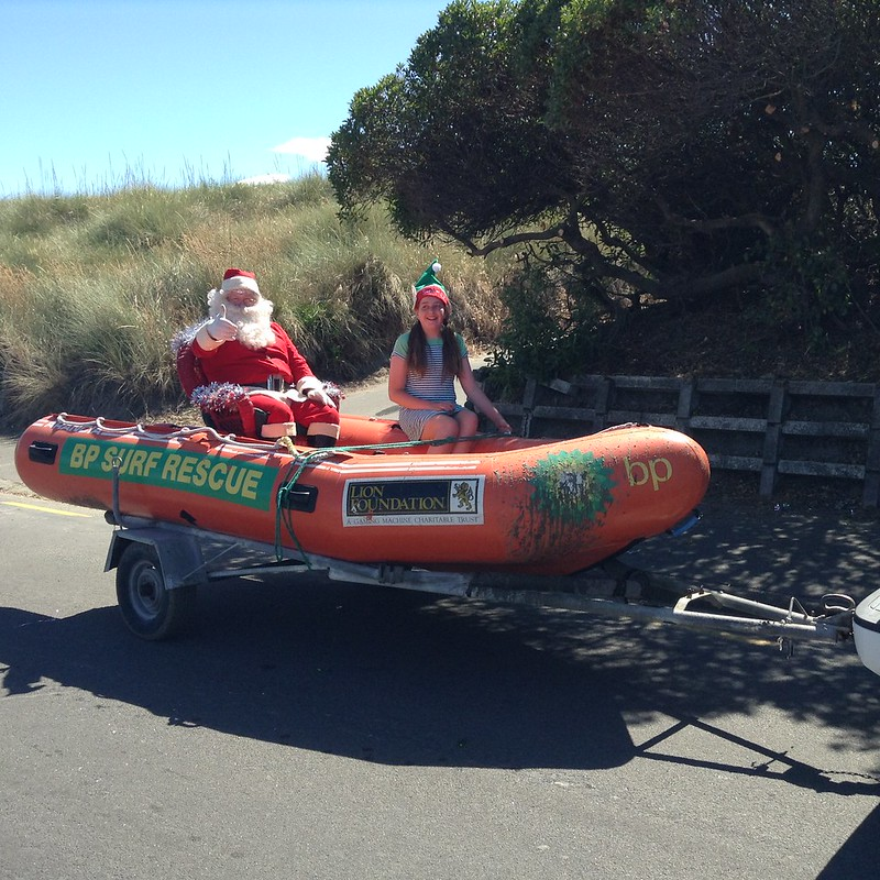 Santa - New Brighton Christmas Parade 2017