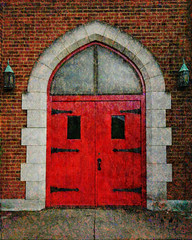 Red Door_art