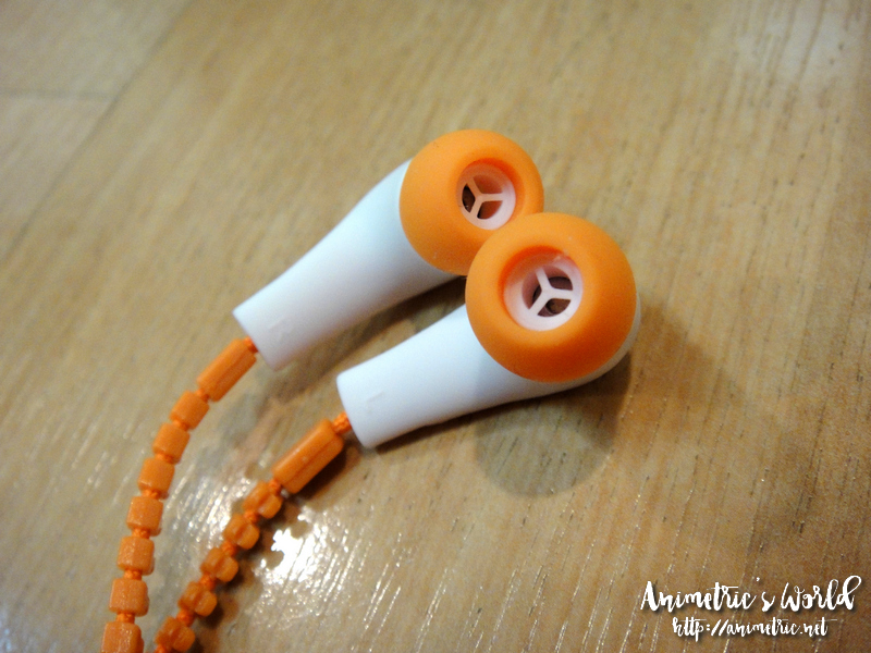 Muzip Zipper Earphones