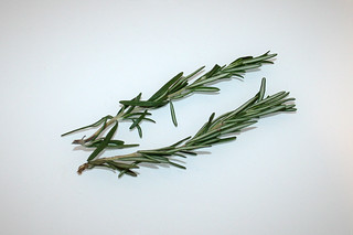 07 - Zutat frischer Rosmarin / Ingredient fresh rosemary