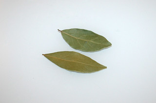 04 - Zutat Lorbeerblätter / Ingredient bay leaves