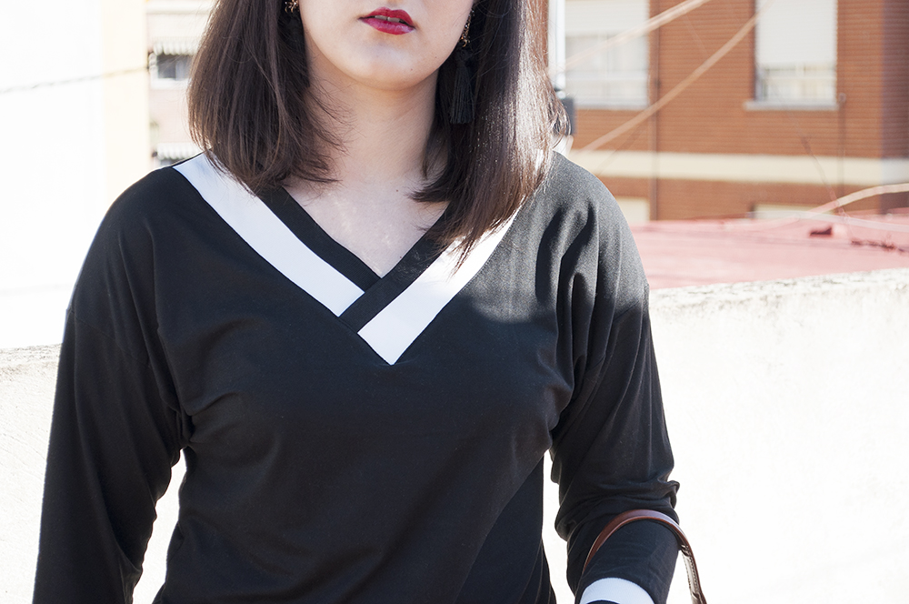 somethingfashion spain firenze italy valencia bloggers outfit shein collaboration blackwhite college sweater_0240