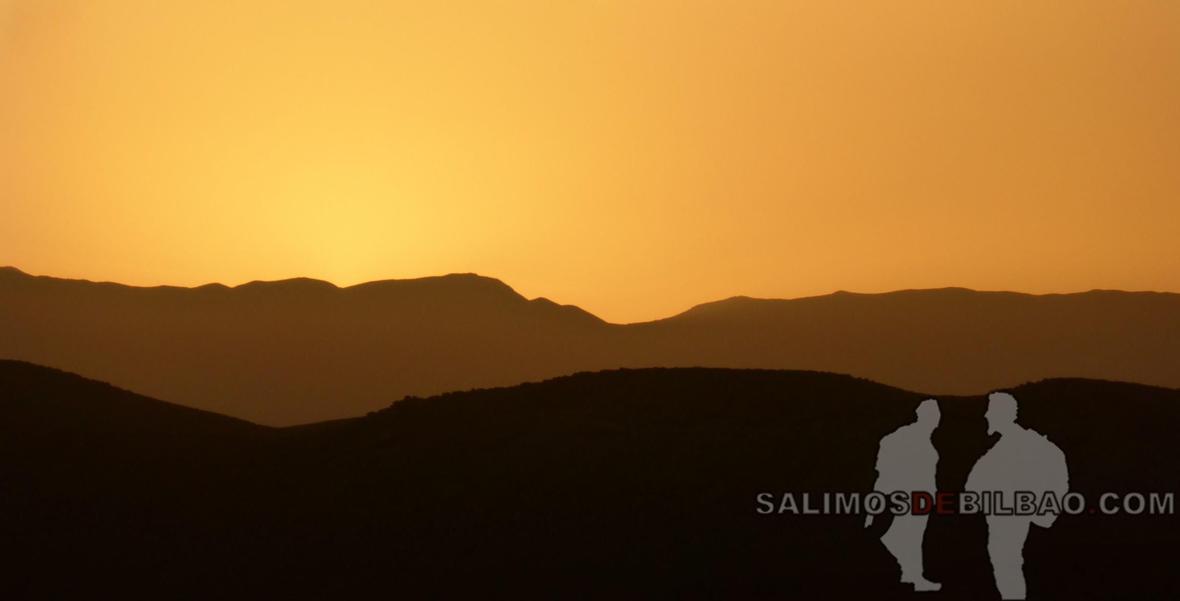554. Puesta de sol, Vistas desde Kasbah Ait Ben Haddou