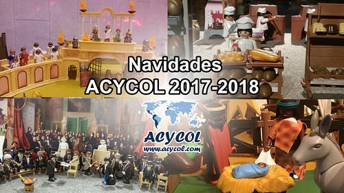 Navidades ACYCOL 2017 / 2018. Mónica Martínez