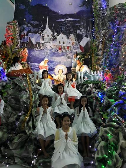 Thánh lễ Giáng Sinh tại Giáo Họ biệt lập Hòa Mục 2017