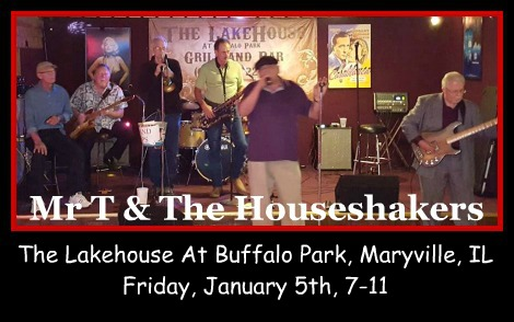 Mr T & The Houseshakers 1-5-18