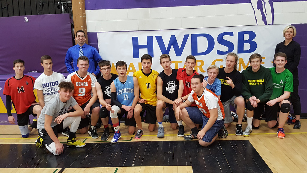 HWDSB Boys Volleyball All-Star (Junior)