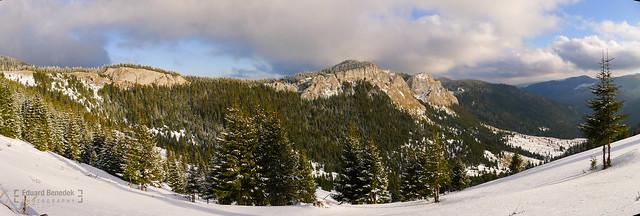 Panorama cu Pietrele Albe