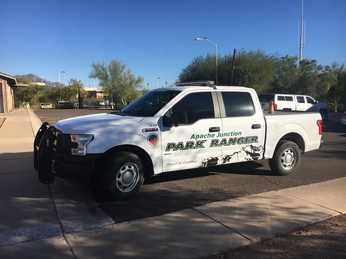 Apache Junction Park Ranger F150