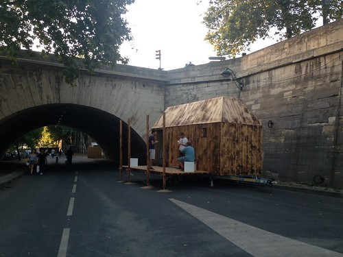 Tiny House IMBY_borde del Sena, Paris, Francia @Ricardo Mayor