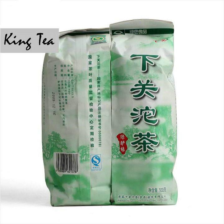 2009 XiaGuan LvYanYuan Tuo 100g*5=500g   YunNan Raw Tea Sheng Cha