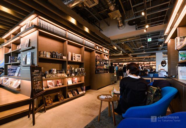 Starbucks Coffee, Shonan Tsutaya Books branch (スターバックスコーヒー 湘南蔦屋書店)