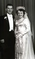 9A_HOWARD Y NANCY_Howard y nancy día de su boda 14 de marzo 1950