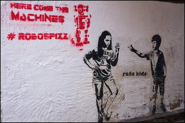 Rude Kids and Robospizz - DSCF0010a