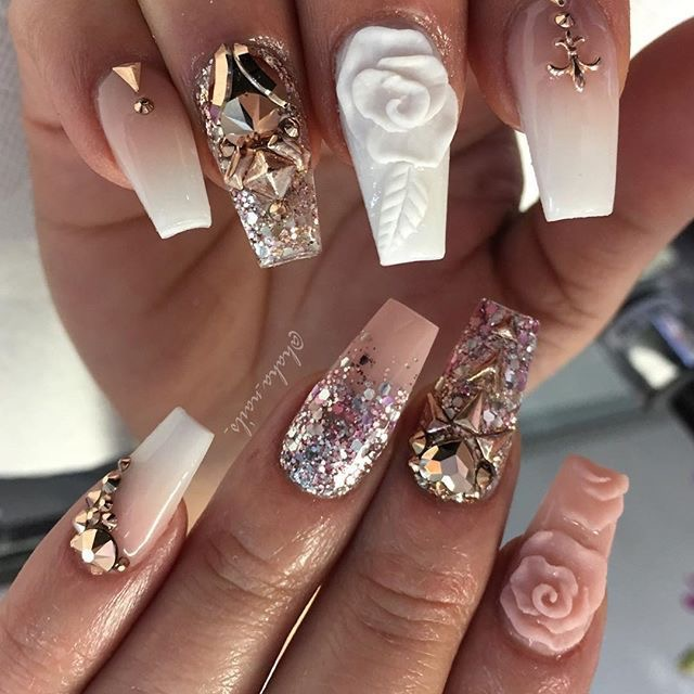 Metallic Nail Designs For 2018