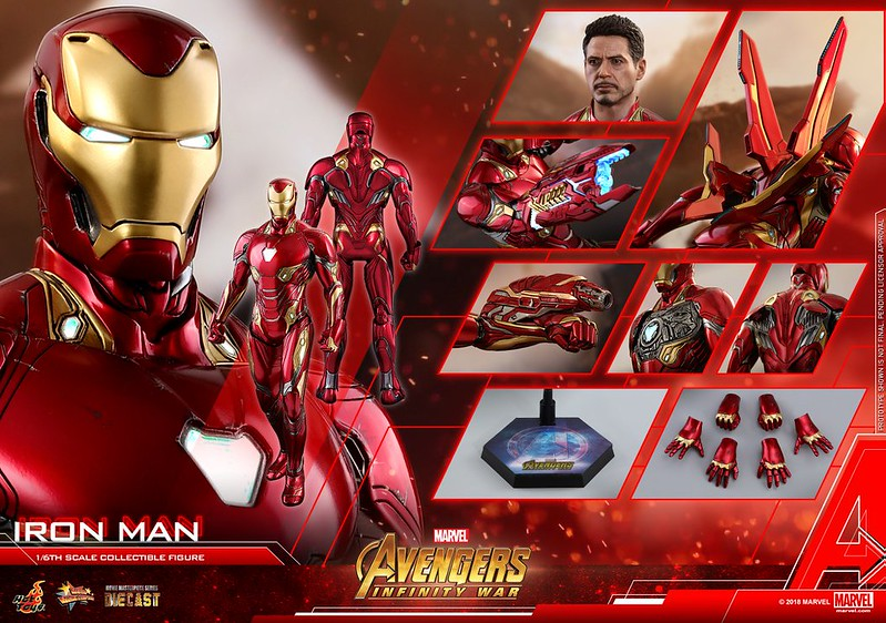 AVENGERS INFINITY WAR IRON MAN HOT TOYS