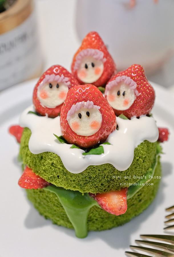 有點甜 草莓 抹茶 蛋糕 甜點12