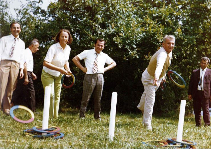 Elena Ceausescu, Ion Iliescu, Nicolae Ceausescu