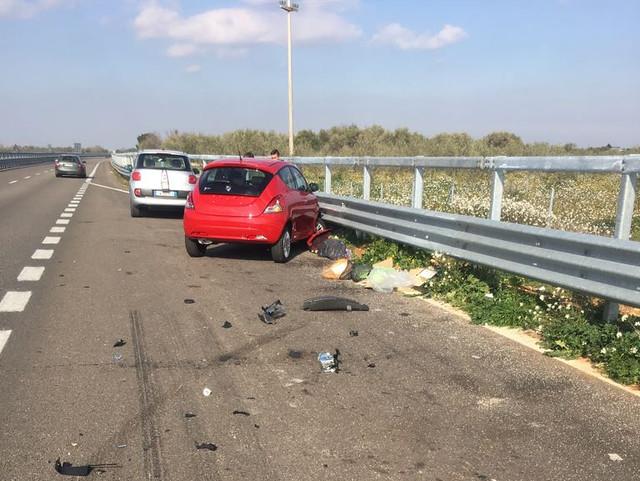 incidente stale 100 per presenza autovelox