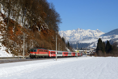 giselabahn salzburgtirolerbahn mitterberghütten urreiting salzburgerland pongau tennengebirge öbb 1142 1142688 rex1512 cityshuttle wendezug