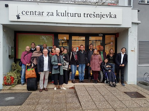 First project meeting, Trešnjevka Cultural Centre Zagreb, Croatia (Sep 2017)