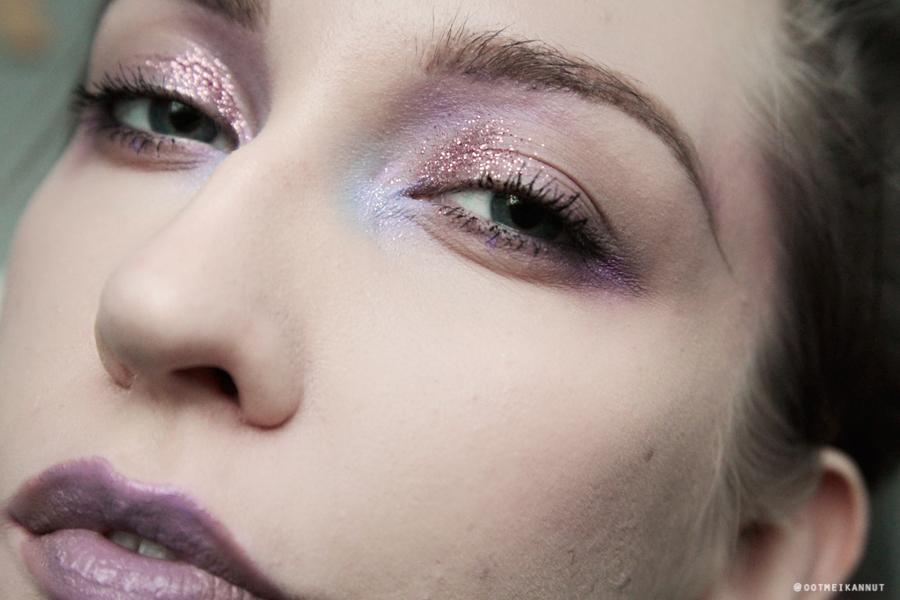 laventelinen meikki