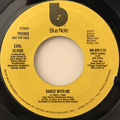 EARL KLUGH:DANCE WITH ME(LABEL SIDE-A)