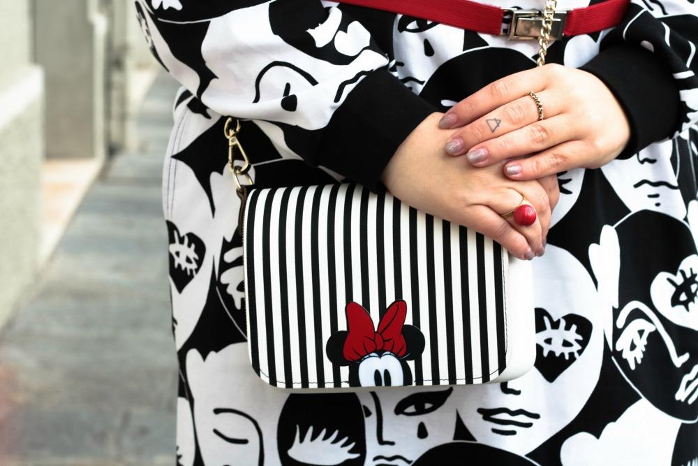 Outfit plus size monki, bianco rosso e nero (4)