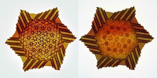 Origami Star-flowers (Marjan Smeijsters)