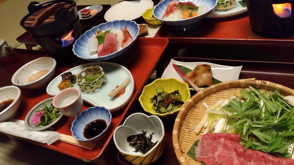 旅館たむらの食事3