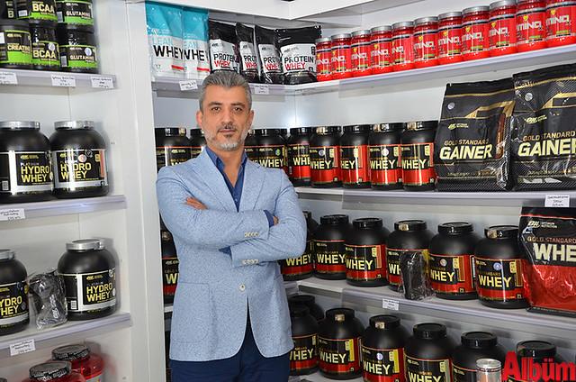 Provitanya Sporcu Gıdaları sahibi Murat Çakır