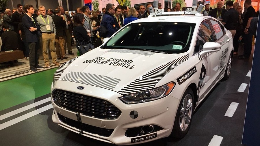 ford ces 2018