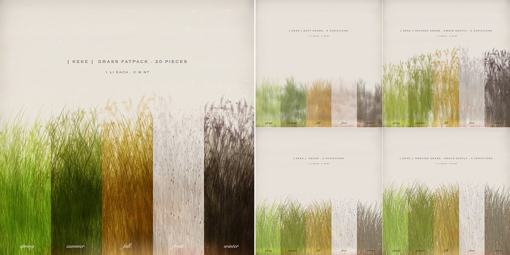 [ keke ] grasses