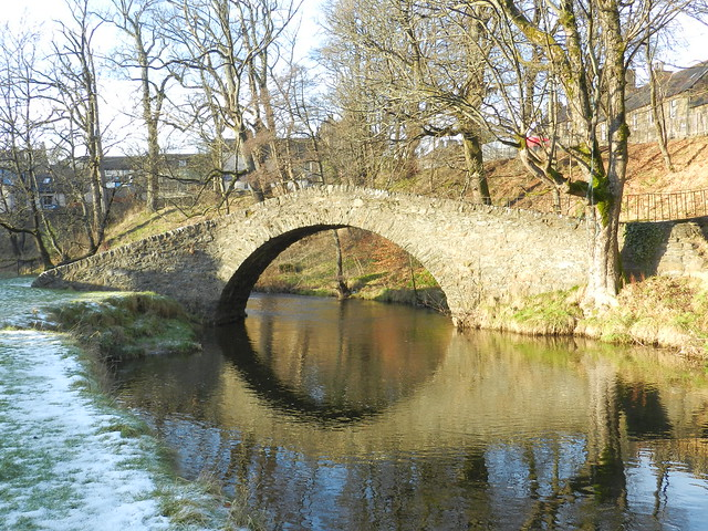 The Auld Brig, Keith, Morayshire, Jan 2018
