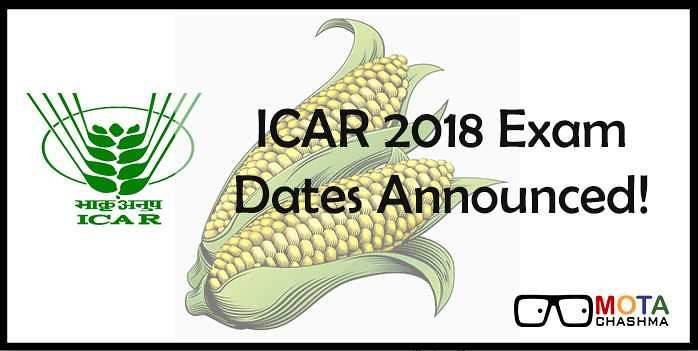icar exam dates announced