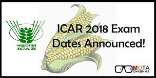 ICAR Exam Dates