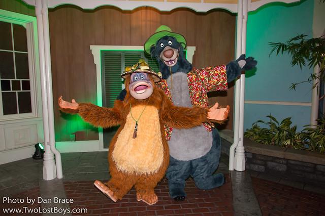 Meeting King Louie and Baloo